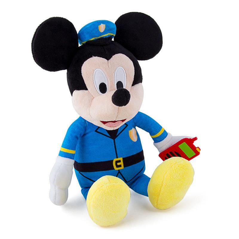 Peluche mickey policia