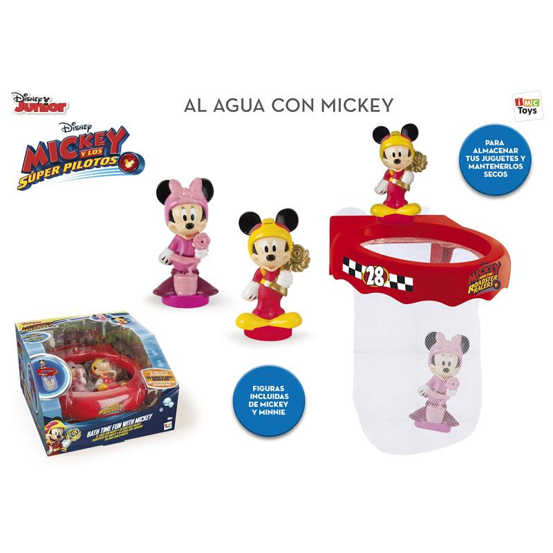 Al agua con Mickey