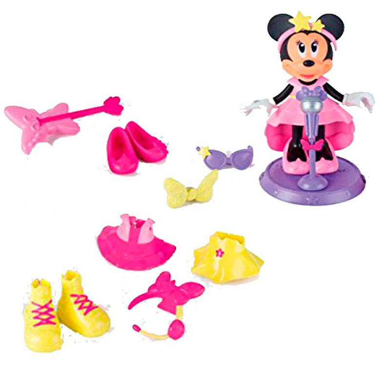 Minnie pop star fashion dolls