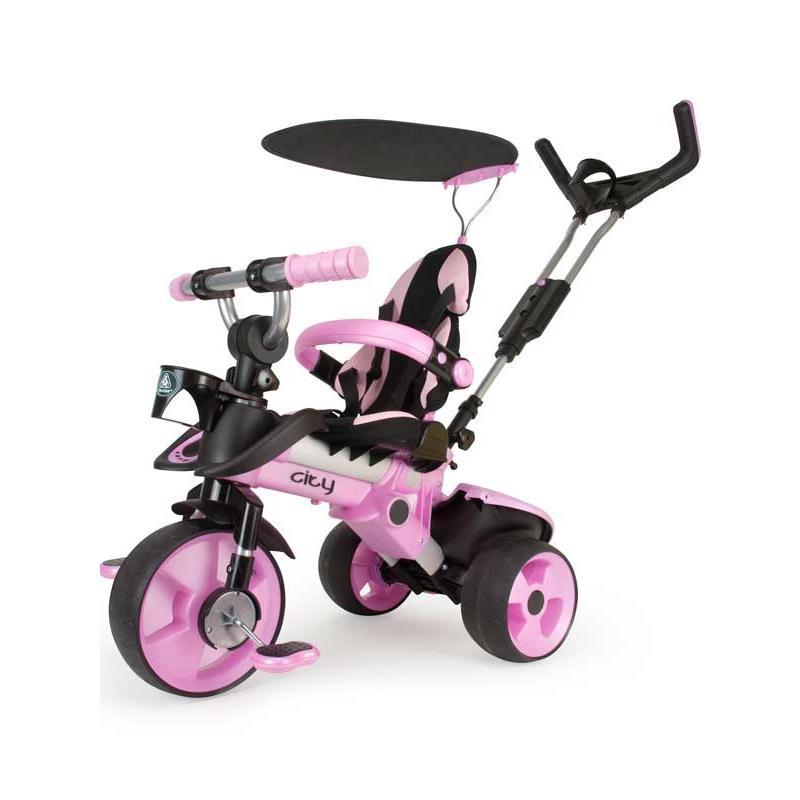 Triciclo City rosa