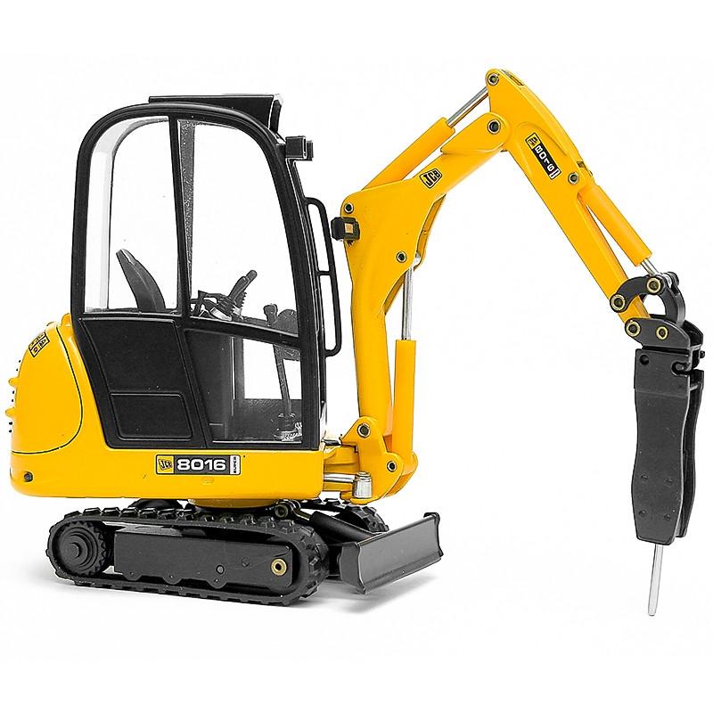 Mini Excavadora Jcb 8016 con Martillo Hidr. 1:25