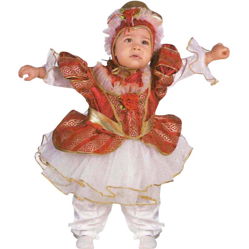 Disfraz reina bebé