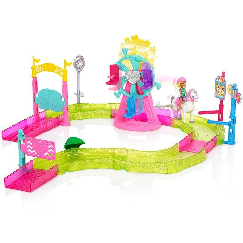 Barbie on the go parque de atracciones