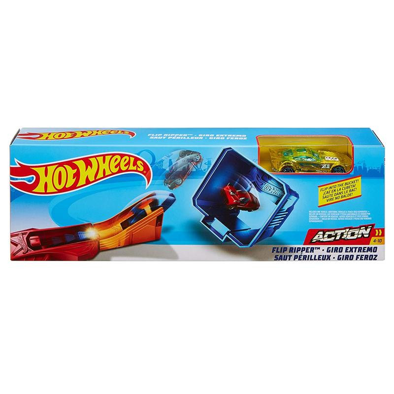 Hot Wheels lanzador Classic stunt Flip Ripper