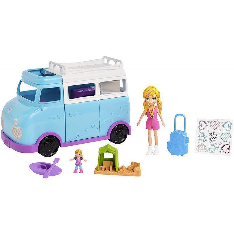 Polly Pocket caravana de aventuras