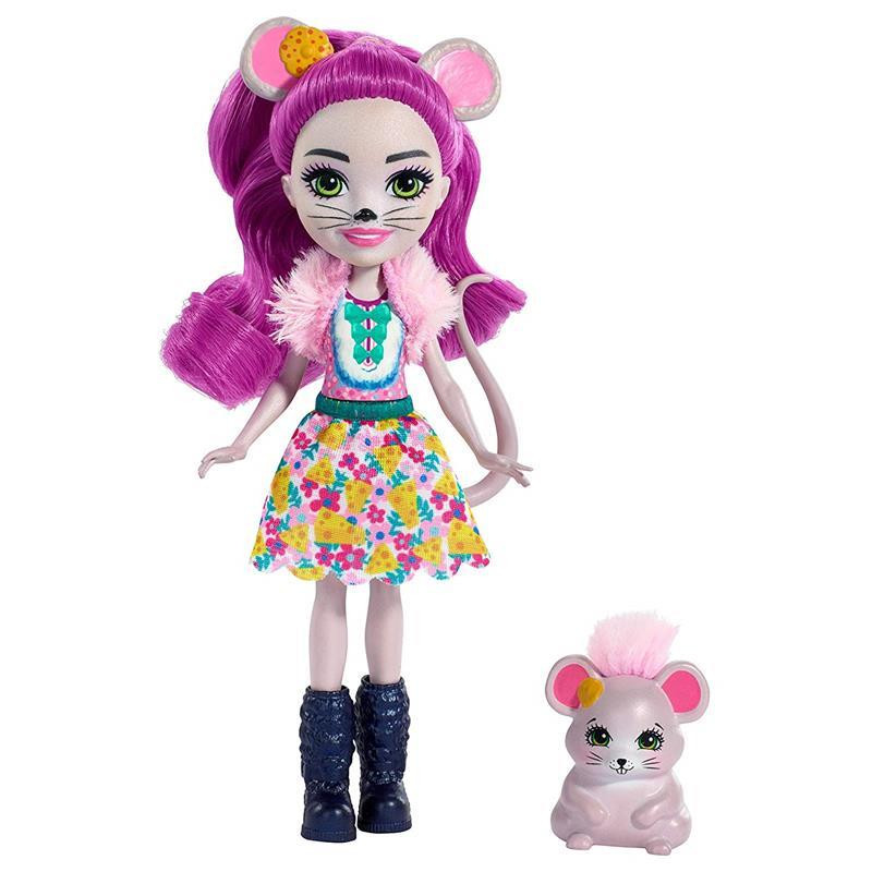 Enchantimals Maela mouse y Fondue