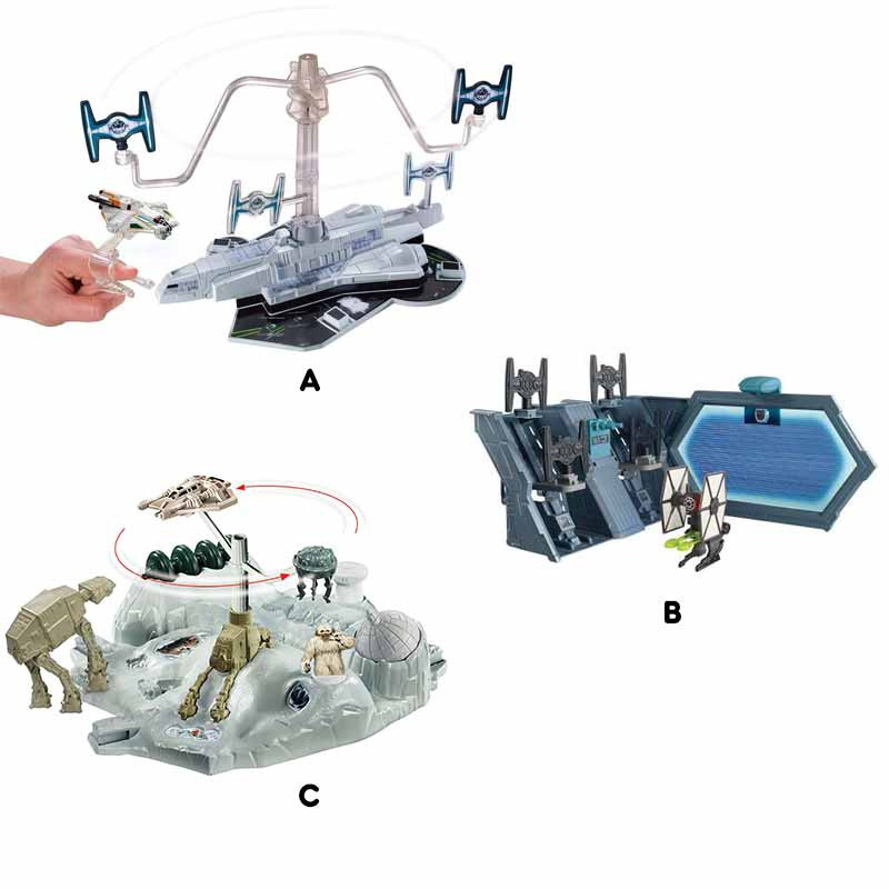 Hot Wheels Playsets de Star Wars