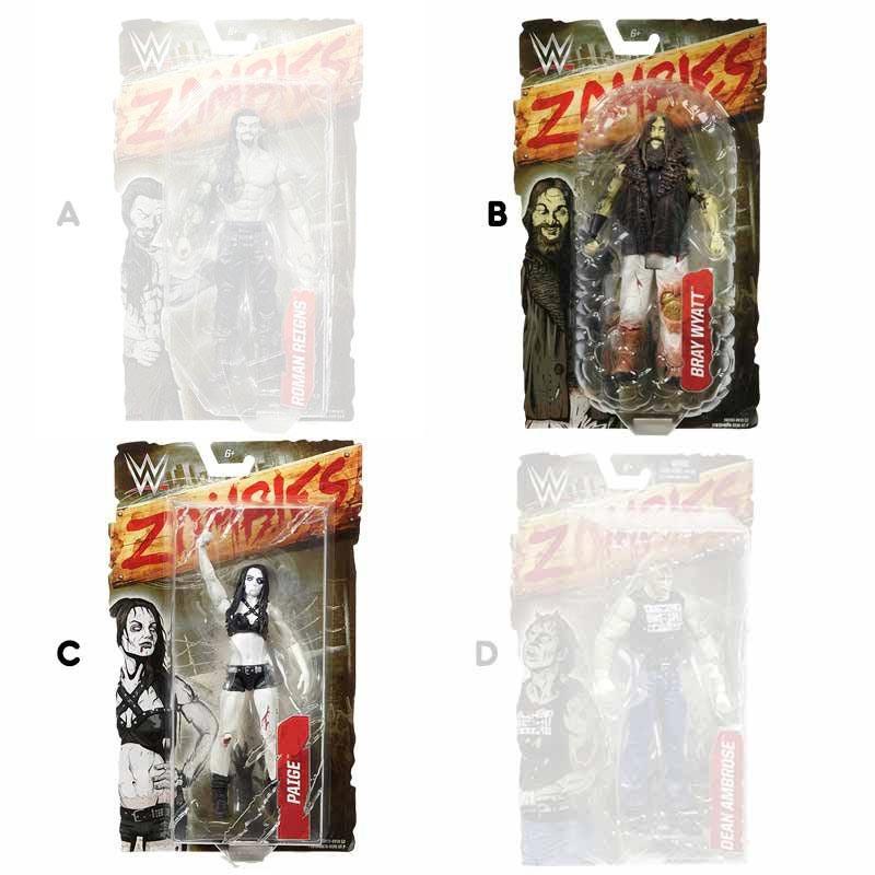 WWE Figuras Zombies