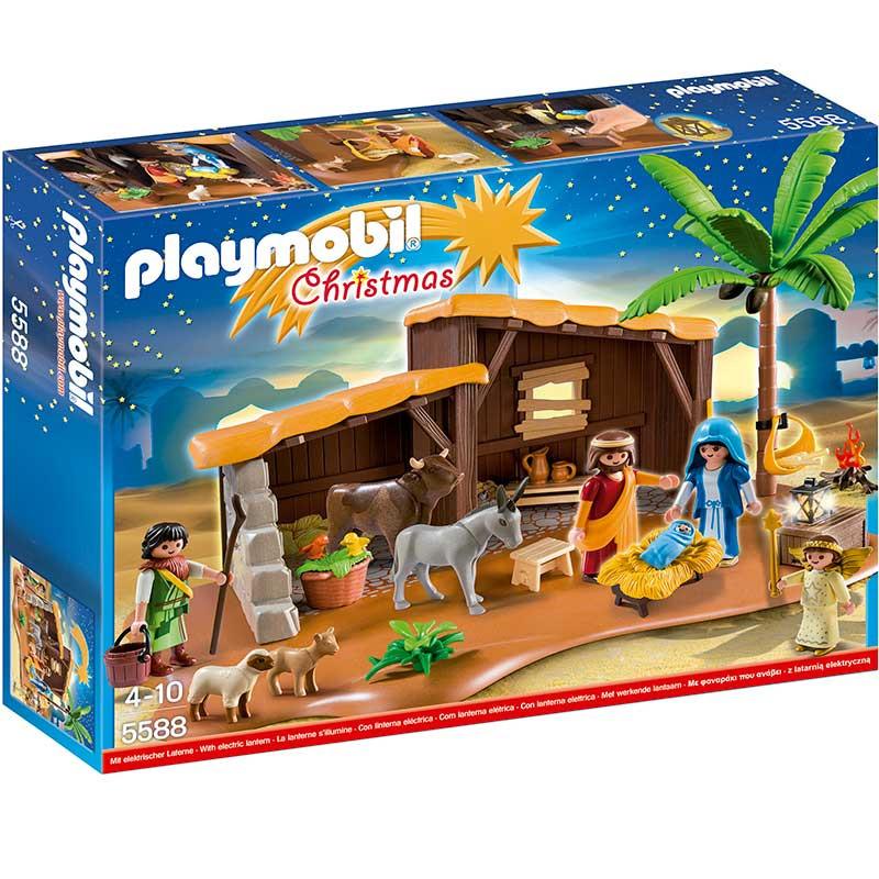 Playmobil Belén con establo