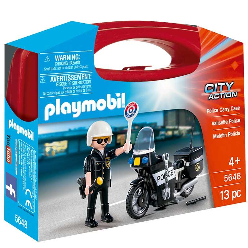 Playmobil Maletín Policía
