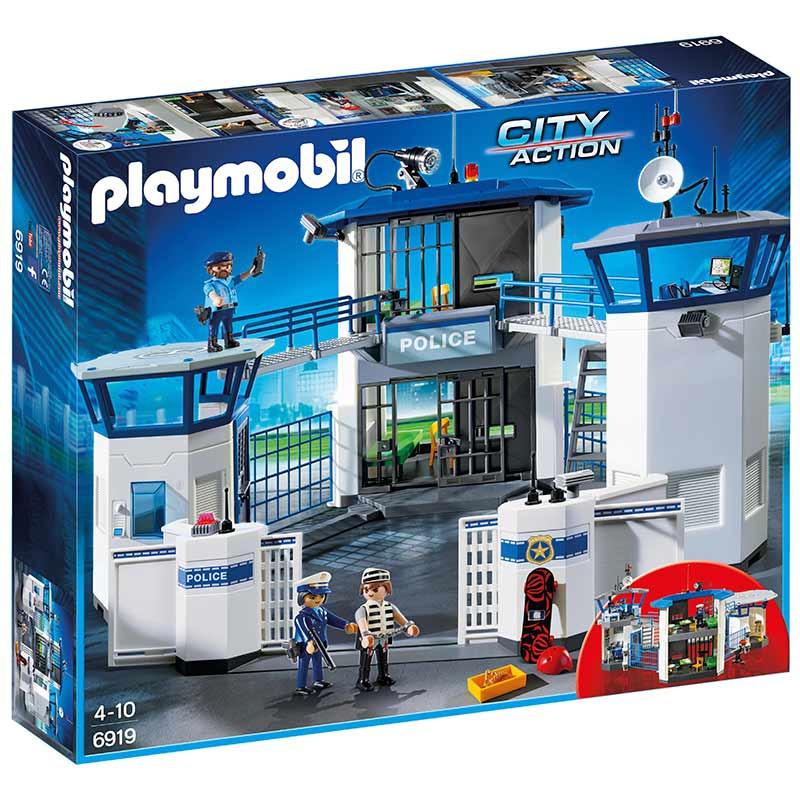 Playmobil Comisaría de Policía con Prisión