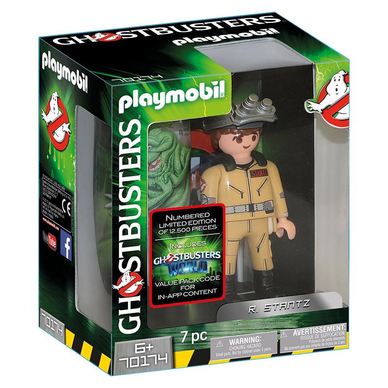 Playmobil Ghostbusters figura R.Stantz