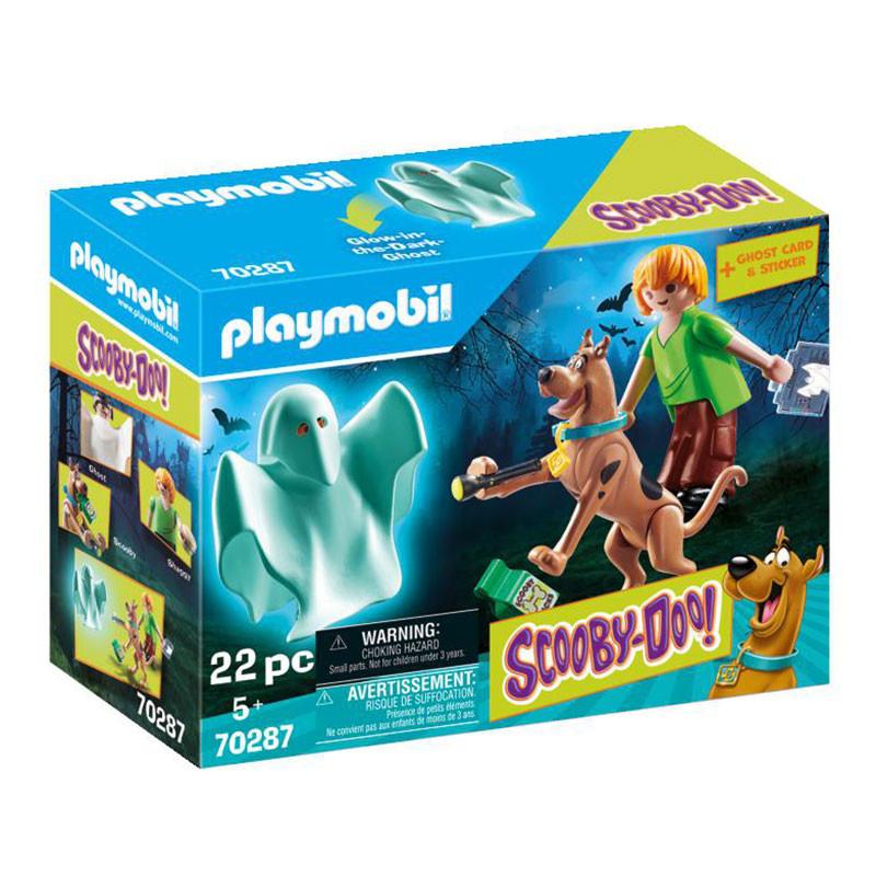 Playmobil Scooby Doo Scooby & Shaggy con fantasma