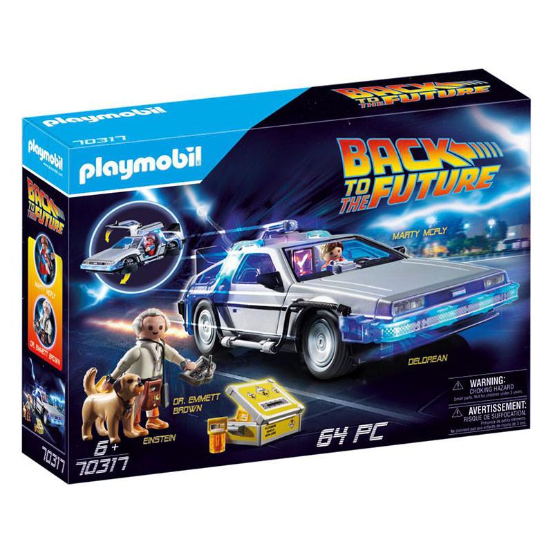 Playmobil Regreso al futuro DeLorean