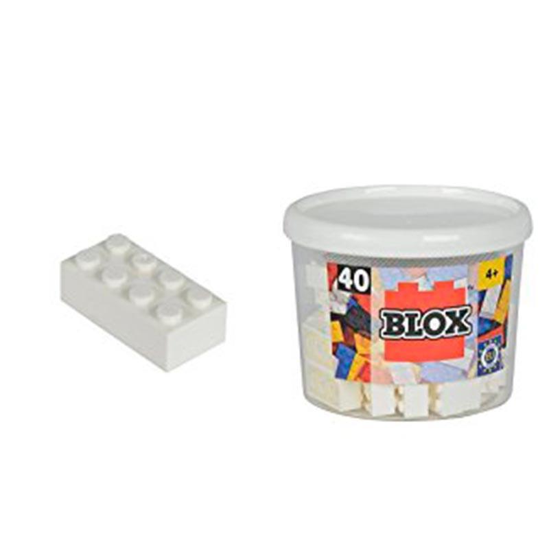 Bloques de construción Blox blancos
