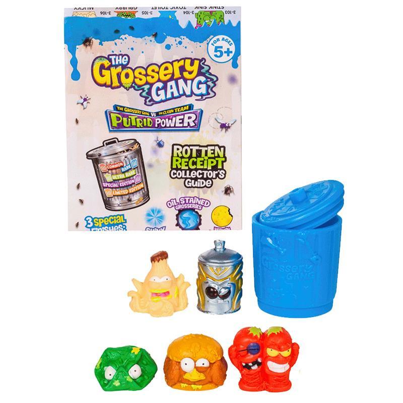 Grossery gan Putrid power con cubo de basura