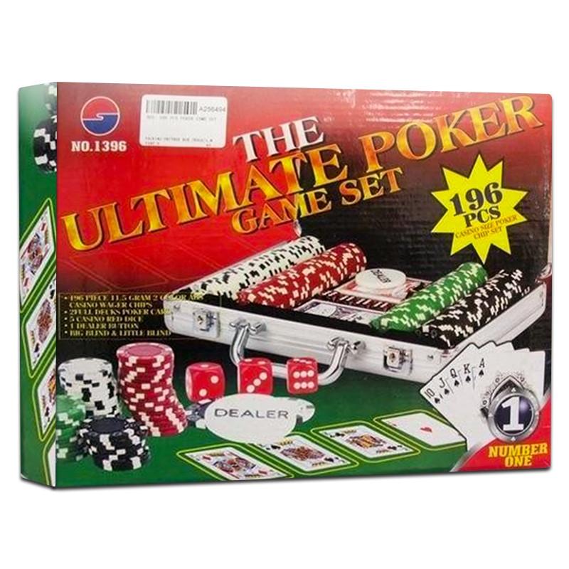 Juego de Poker 196 piezas
