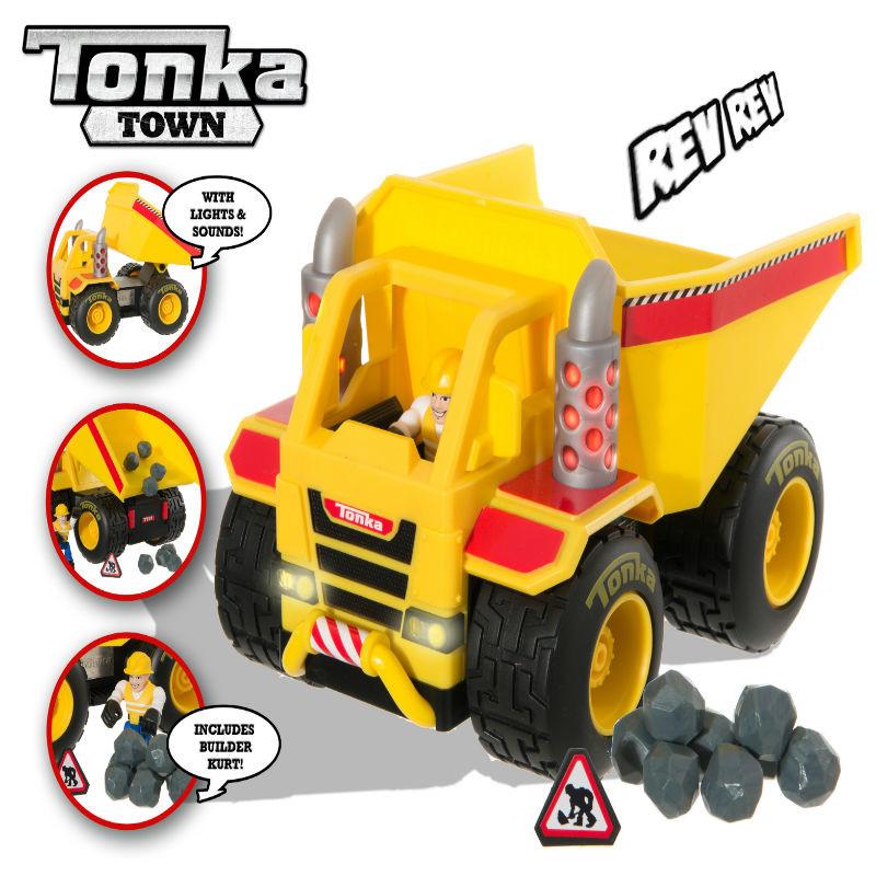 Camión de obras Tonka