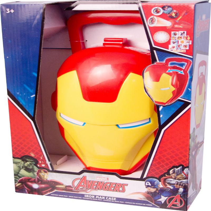 Maletin cara Iron Man Avengers