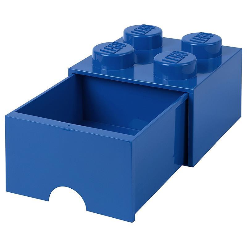 Caja de almacenaje LEGO azul