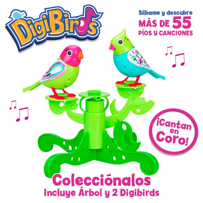 Digibirds árbol (incluye 2 DigiBirds)