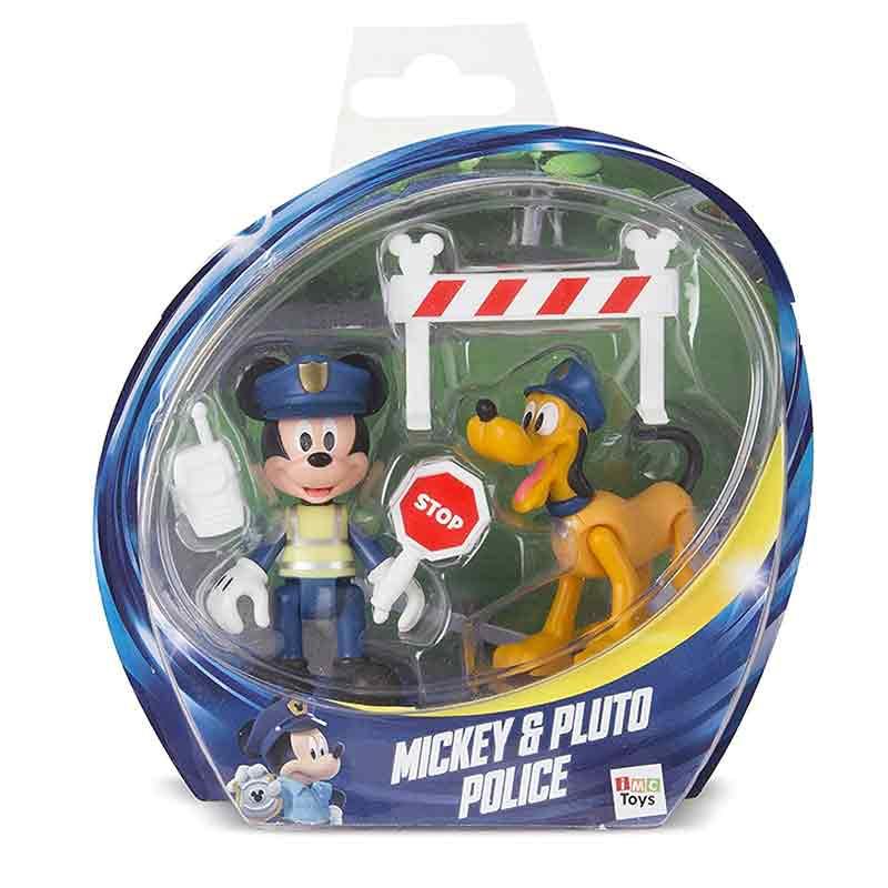 Pack 2 Mickey y Pluto policía