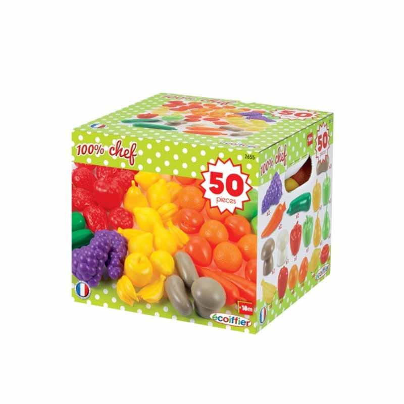 Caja frutas y verduras 100% chef