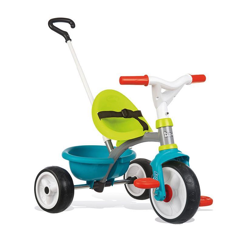 Triciclo be move azul rueda de goma