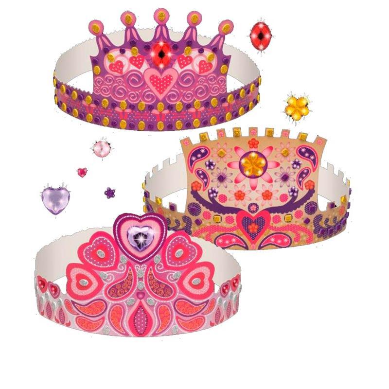 Juego para hacer coronas de princesa Princess Art