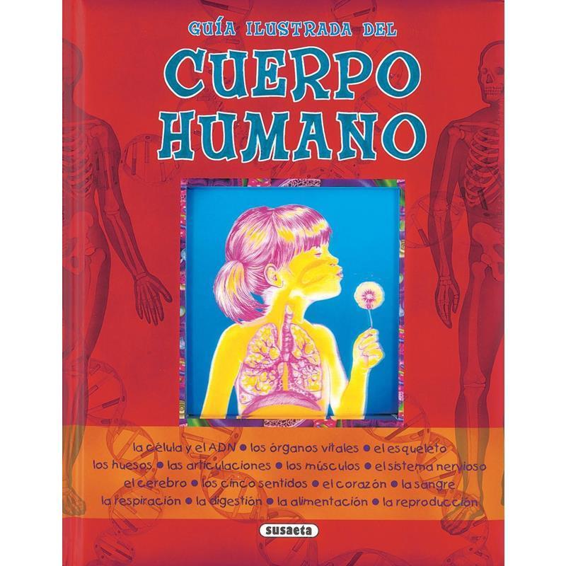 Libro Guía ilustrada cuerpo del humano