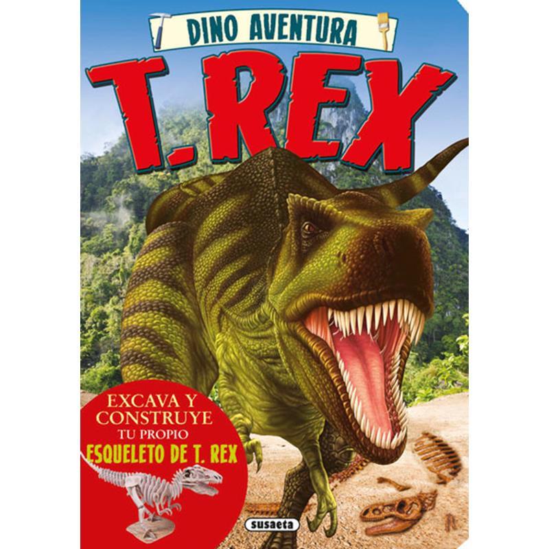 Libro Tiranosaurios Rex (dino aventura)