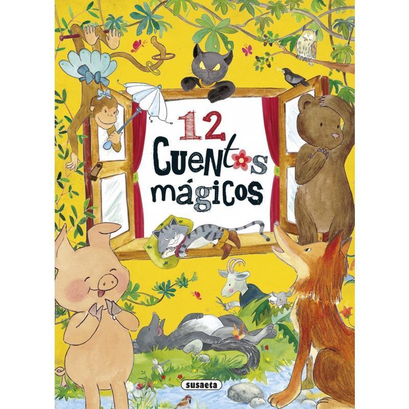 Libro 12 cuentos mágicos