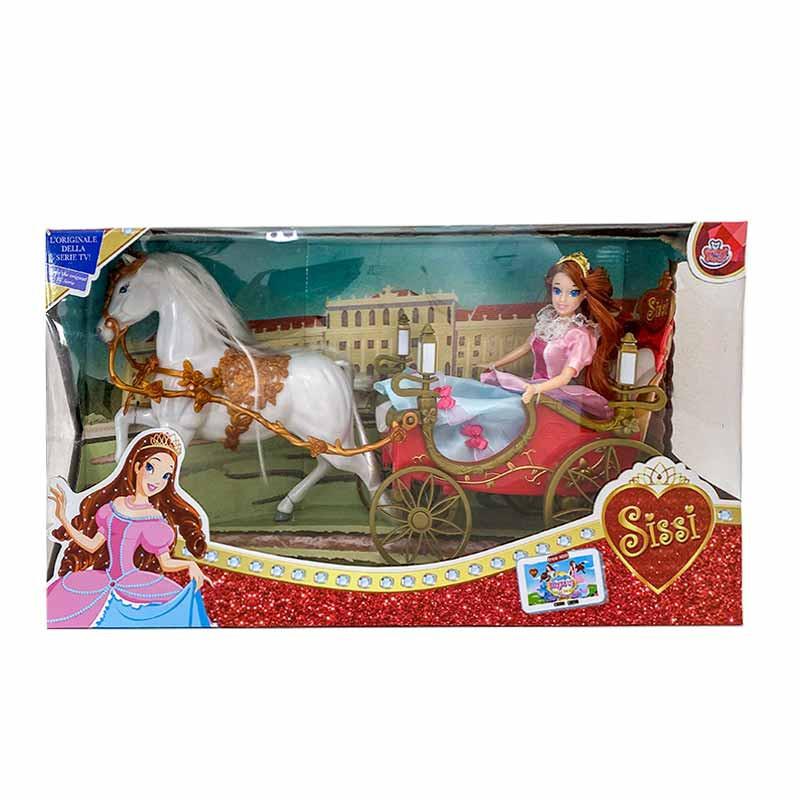Sissi muñeca con carruaje