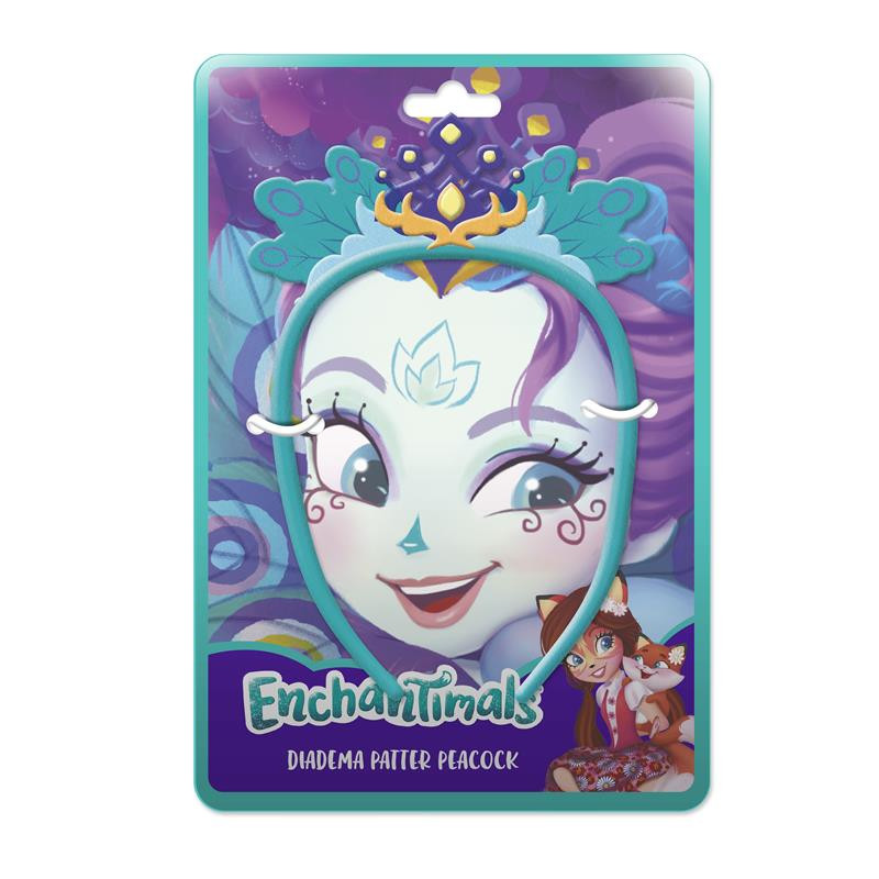 Diadema peluche Enchantimals Patter Peacock