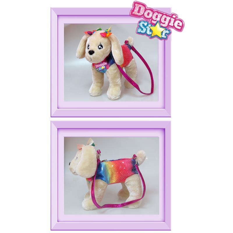 Puluche Doggie Star Golden arcoiris