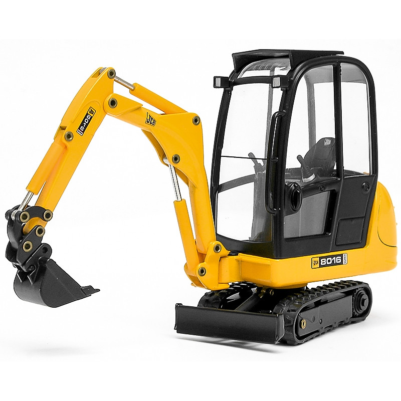 Mini Excavadora Jcb 8016 con Pala 1:25