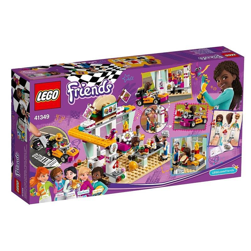 LEGO Friends cafetería de pilotos