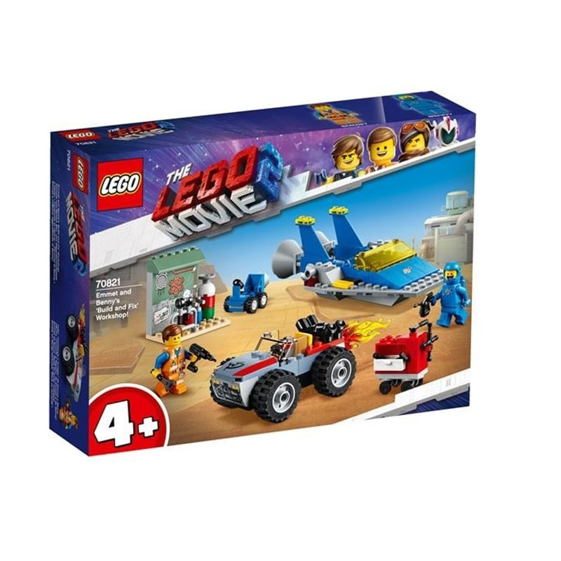 LEGO Movie 2 taller construye arregla Emmet Benny