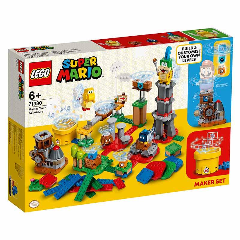 Lego Mario Bross Set Creación Tu propia aventura