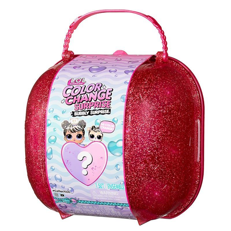 LOL Surprise Color Change bolso Bubbly rosa