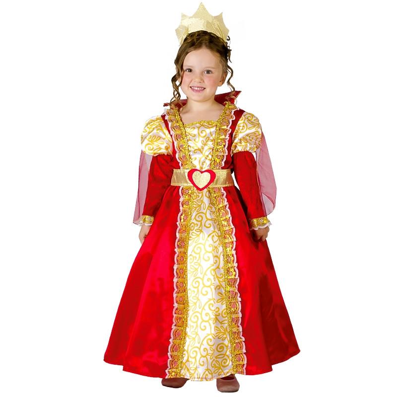 Disfraz Reina Medieval para bebé