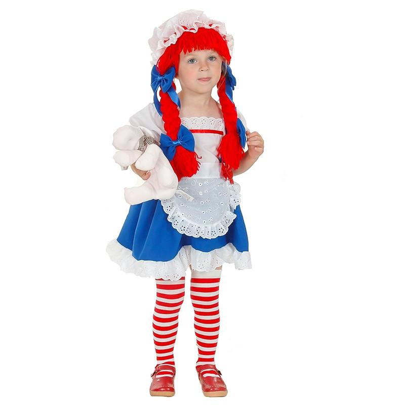 Disfraz muñeca de trapo para bebé