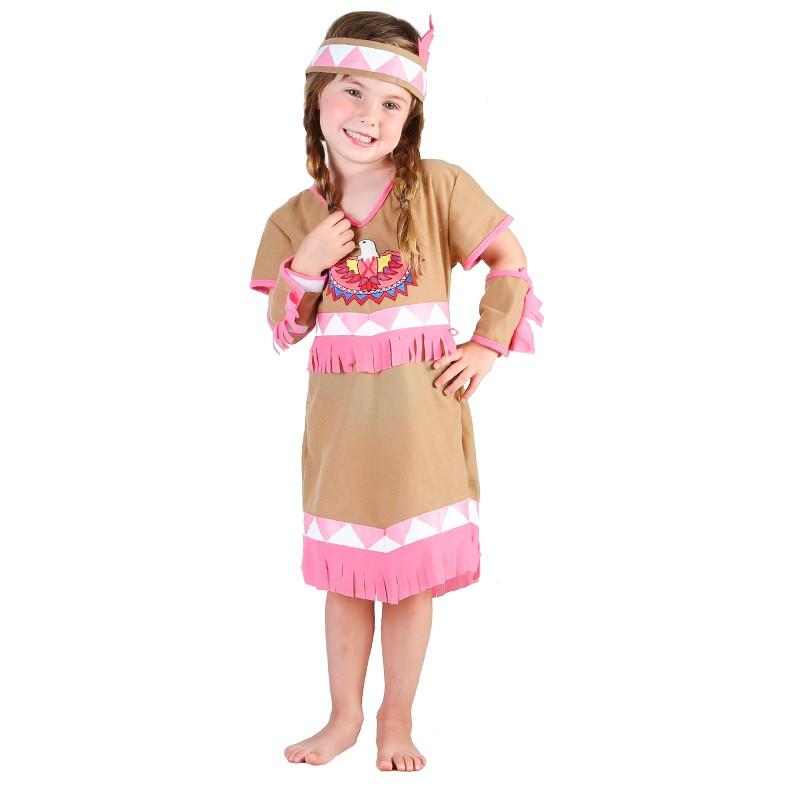 Disfraz india para bebé