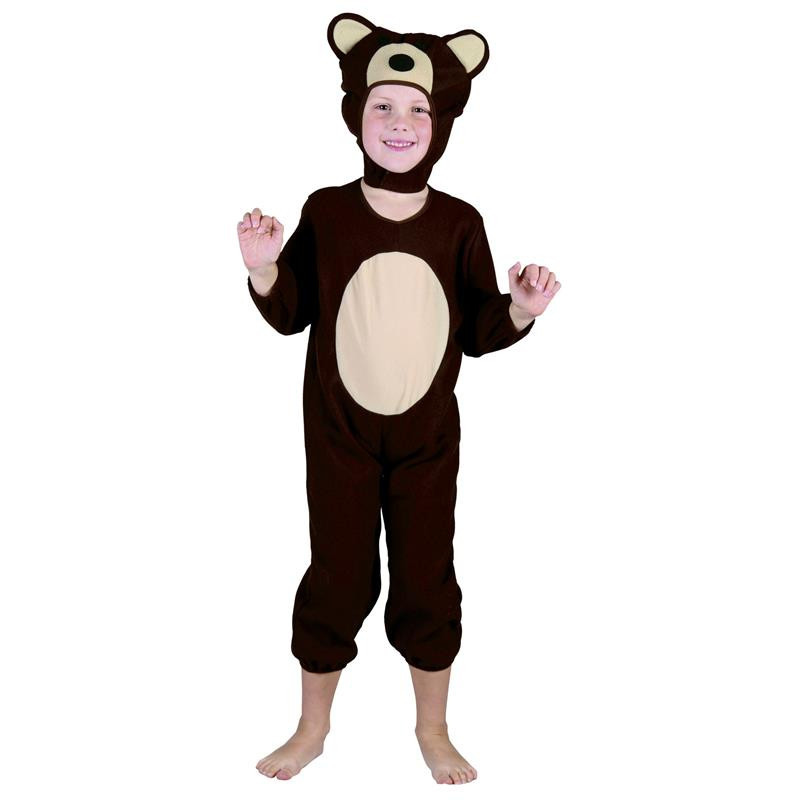 Disfraz oso marrón para bebé