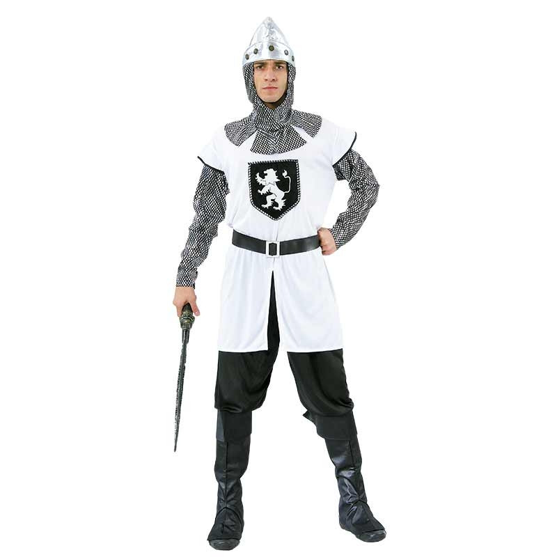 Disfraz Caballero Blanco T/U