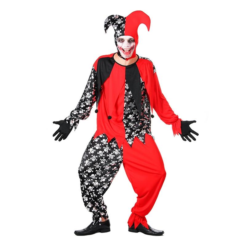 Disfraz Bufon Malo Adulto Halloween