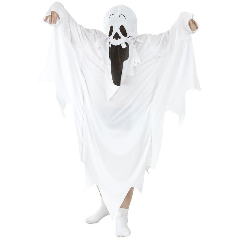 Disfraz fantasma blanco Infantil