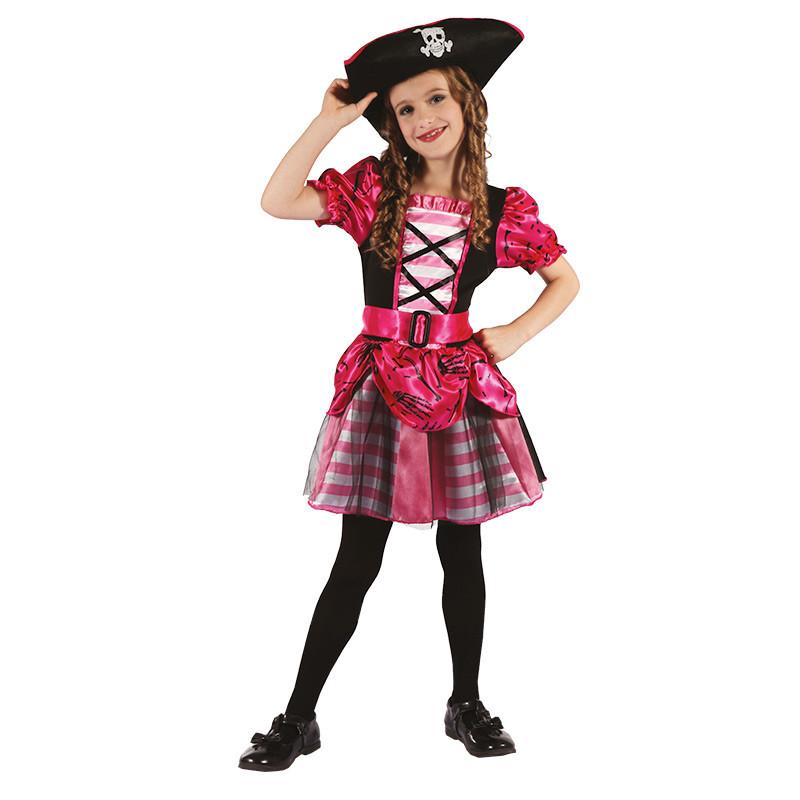 Disfraz Pirata infantil para niña