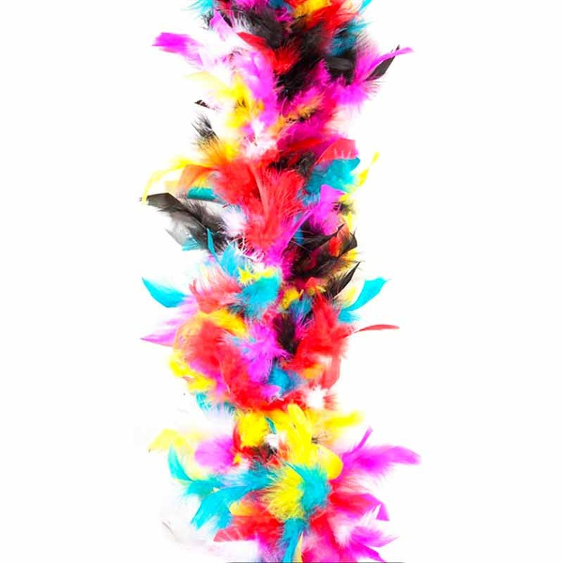 Plumas coloridas