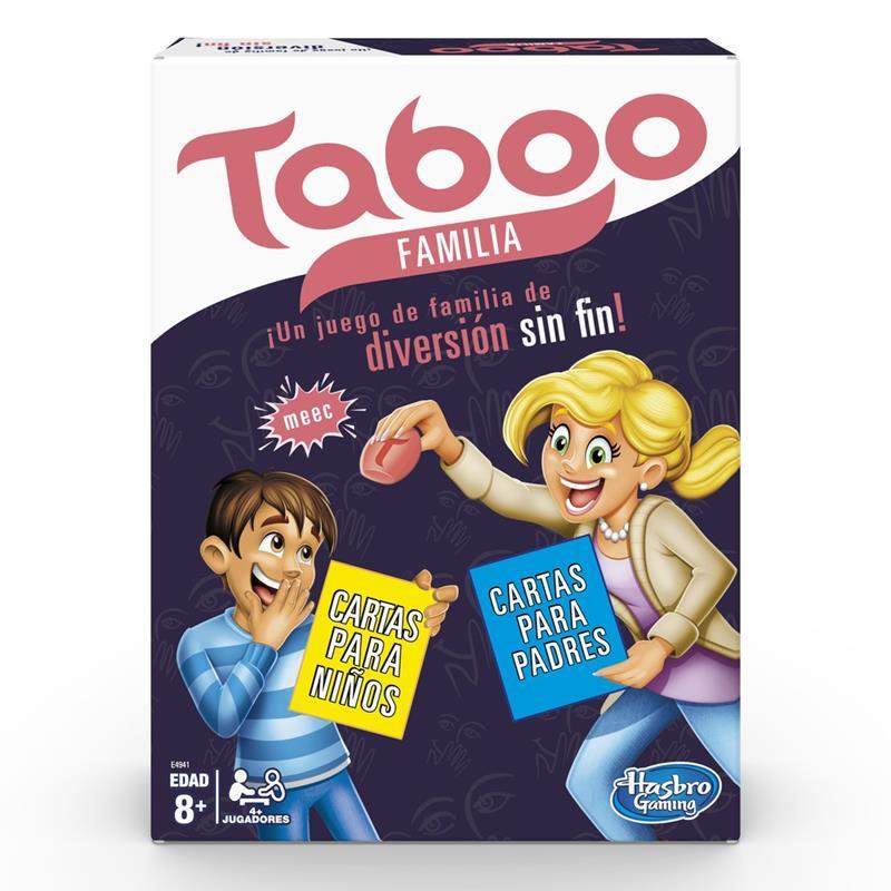 Juego Tabú familia